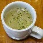 ばじりこ - スープ