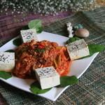 海鮮豆腐キムチ炒め (by ボドゥルコル・イヤギ)