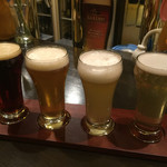 CRAFT BEER HOUSE DEVin家 - 飲み比べ 4種