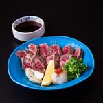 盃花羅亭 - 牛肉のたたき