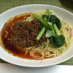 麺や金時 - 濃厚汁なし坦々麺