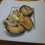 初音 - 椎茸焼き 美味い!