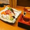 ほてい寿司 - 料理写真:お造り盛り合わせ & 冷酒(久保田 生原酒)
