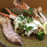 菊寿し - 渡り蟹、シャコ