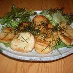 串揚げ びえんと - 山芋の醤油バター焼き