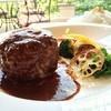 レストラン アルシオーネ コエナ カフェ - 料理写真:ジューシー!チーズインハンバーグ