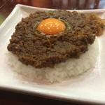 カフェ・ハイチ - 料理写真:目玉ドライカレー