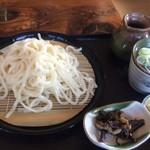 47930519 - 天婦羅うどん(冷)【料理】