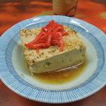 江戸川食堂 - 煮込みの豆腐