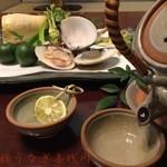 喜代川 - 煮物 例 土瓶蒸し