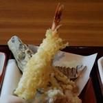 杵屋 - 天ぷら三種