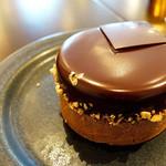 47932616 - ショコラケーキは実に美味い!                       (*´艸`)
