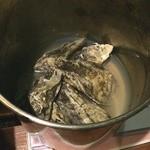 炎 - 蒸し牡蠣⁉️ 美味い〜