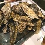 炎 - 牡蠣をいっぱい焼きました(^_^)