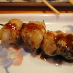 鶴千 - フランス産鴨のもも肉串