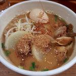 Torinoana - 【2月限定】トリミソラシド(850円)+味玉(My箸サービス)