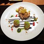 カフェ カリフォルニア - メカジキと帆立貝のグリル