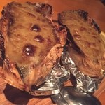 DOMOS - 牡蠣の蟹味噌焼き