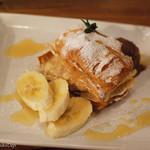 肉バル ゴリズキッチン - キャラメルバナナのムース〜ショコラのアイスクリーム〜