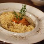 肉バル ゴリズキッチン - 生うにの冷製カルボナーラ