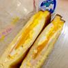 バイカドー - 料理写真:ダブル玉子のハムチーズトースト(270円)(2016.02現在)