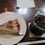 4794717 - るぽ:アイスコーヒー+マローネ