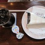 4794719 - るぽ:アイスコーヒー+レアチーズ