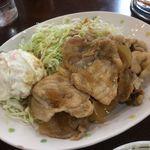 カフェ食堂みどり - 豚の生姜焼き