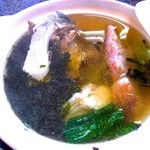 龍宮館 - 青森の郷土料理のじゃっぱ汁 +350円