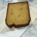 ブルーボトルコーヒー 清澄白河 ロースタリー&カフェ - オレンジピールのパウンドケーキ(^∇^)