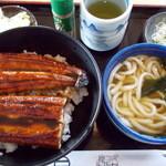 岸乃庵 - 料理写真:うなぎ丼。1,350円
