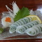 魚料理 いず松陰 - いか 800円