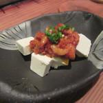 47946847 - チャンジャとクリームチーズ(¥480)