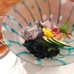 美味酒菜 武蔵乃 - すっぽんエンペラ酢味噌
