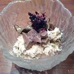 美味酒菜 武蔵乃 - すっぽんレバーの白和え