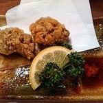 美味酒菜 武蔵乃 - すっぽんもも肉唐揚