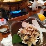 美味酒菜 武蔵乃 - 濃厚出汁のすっぽん鍋