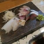 八十吉 - 料理写真:鯖 イカ 八角