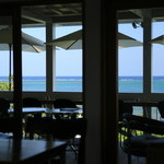 Natural Garden Cafe PUFFPUFF - 店内からの景色