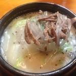 韓国食堂 - ソルロンタン600円