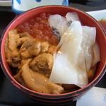 橋立大丸 - 料理写真:うにといくらどっさりのせました