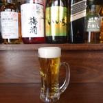47955778 - 「生ビール」350円也。