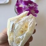 熱川バナナワニ園分園フルーツパーラー - バナナクリーム