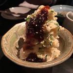 47957790 - 炙りベーコンのポテトサラダ(600円)