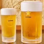 松尾ジンギスカン - サッポロクラッシックビール(中)¥480