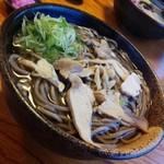 そば処 ひろ - ひろセット・肉そば(大)/28年2月26日