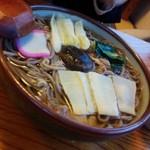 そば処 ひろ - 鳥そば温850円/28年2月26日