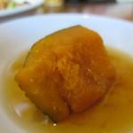 茅ヶ崎ひだまり食堂 - かぼちゃの煮物アップ