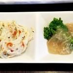 旬味名菜 このえ - にぎり寿司 の小皿料理