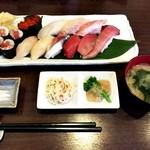 旬味名菜 このえ - 本日のにぎり寿司 竹 全景